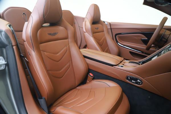 New 2020 Aston Martin DBS Superleggera Volante for sale $375,916 at Maserati of Westport in Westport CT 06880 24