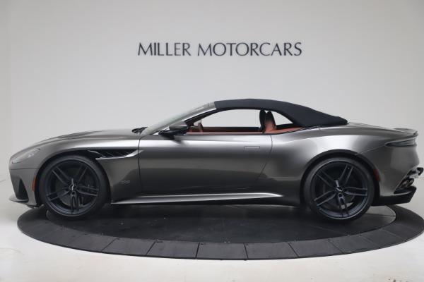 New 2020 Aston Martin DBS Superleggera Volante for sale $375,916 at Maserati of Westport in Westport CT 06880 27