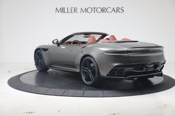 New 2020 Aston Martin DBS Superleggera Volante for sale $375,916 at Maserati of Westport in Westport CT 06880 4