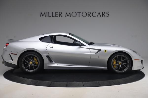 Used 2011 Ferrari 599 GTO for sale Sold at Maserati of Westport in Westport CT 06880 9