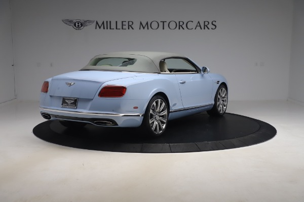 Used 2017 Bentley Continental GT Convertible W12 for sale $169,900 at Maserati of Westport in Westport CT 06880 20