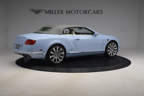Used 2017 Bentley Continental GT Convertible W12 for sale $169,900 at Maserati of Westport in Westport CT 06880 21