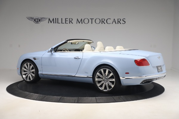 Used 2017 Bentley Continental GT Convertible W12 for sale $169,900 at Maserati of Westport in Westport CT 06880 4