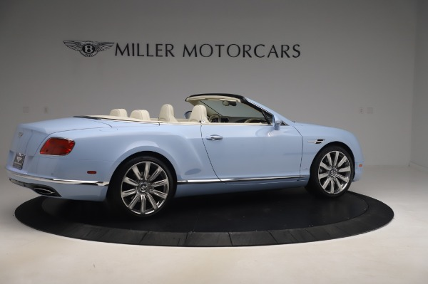 Used 2017 Bentley Continental GT Convertible W12 for sale $169,900 at Maserati of Westport in Westport CT 06880 9