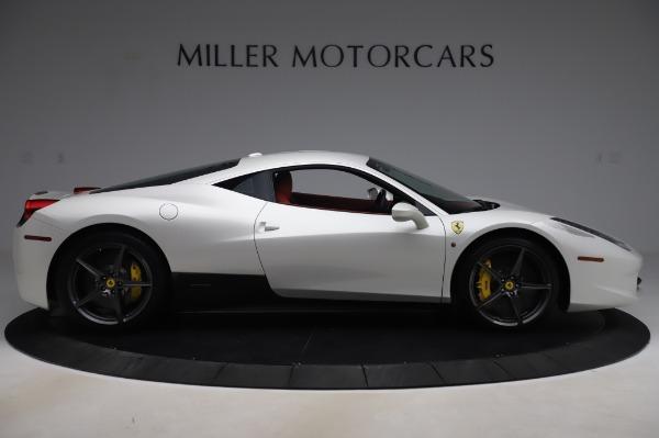 Used 2013 Ferrari 458 Italia for sale Sold at Maserati of Westport in Westport CT 06880 9