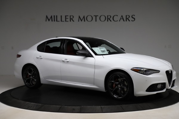 New 2020 Alfa Romeo Giulia Ti Sport Q4 for sale $51,495 at Maserati of Westport in Westport CT 06880 10