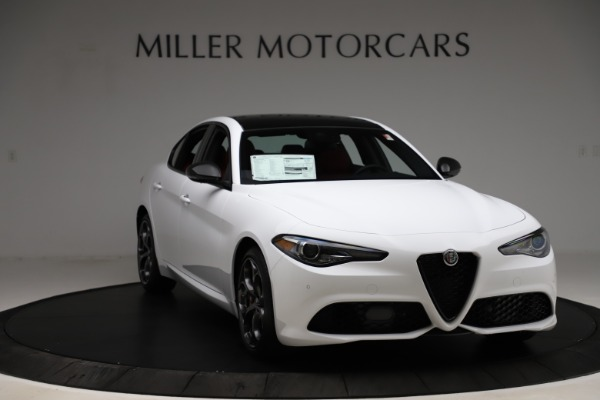 New 2020 Alfa Romeo Giulia Ti Sport Q4 for sale $51,495 at Maserati of Westport in Westport CT 06880 11