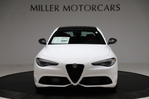 New 2020 Alfa Romeo Giulia Ti Sport Q4 for sale $51,495 at Maserati of Westport in Westport CT 06880 12