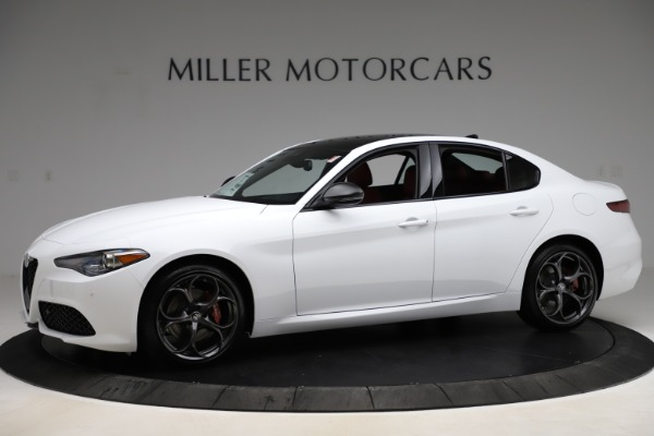 New 2020 Alfa Romeo Giulia Ti Sport Q4 for sale $51,495 at Maserati of Westport in Westport CT 06880 2