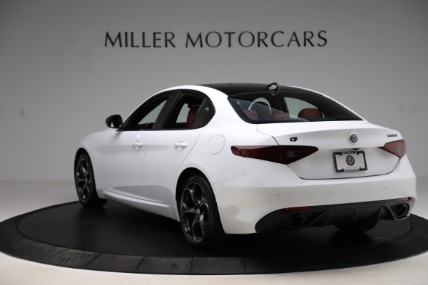 New 2020 Alfa Romeo Giulia Ti Sport Q4 for sale $51,495 at Maserati of Westport in Westport CT 06880 5
