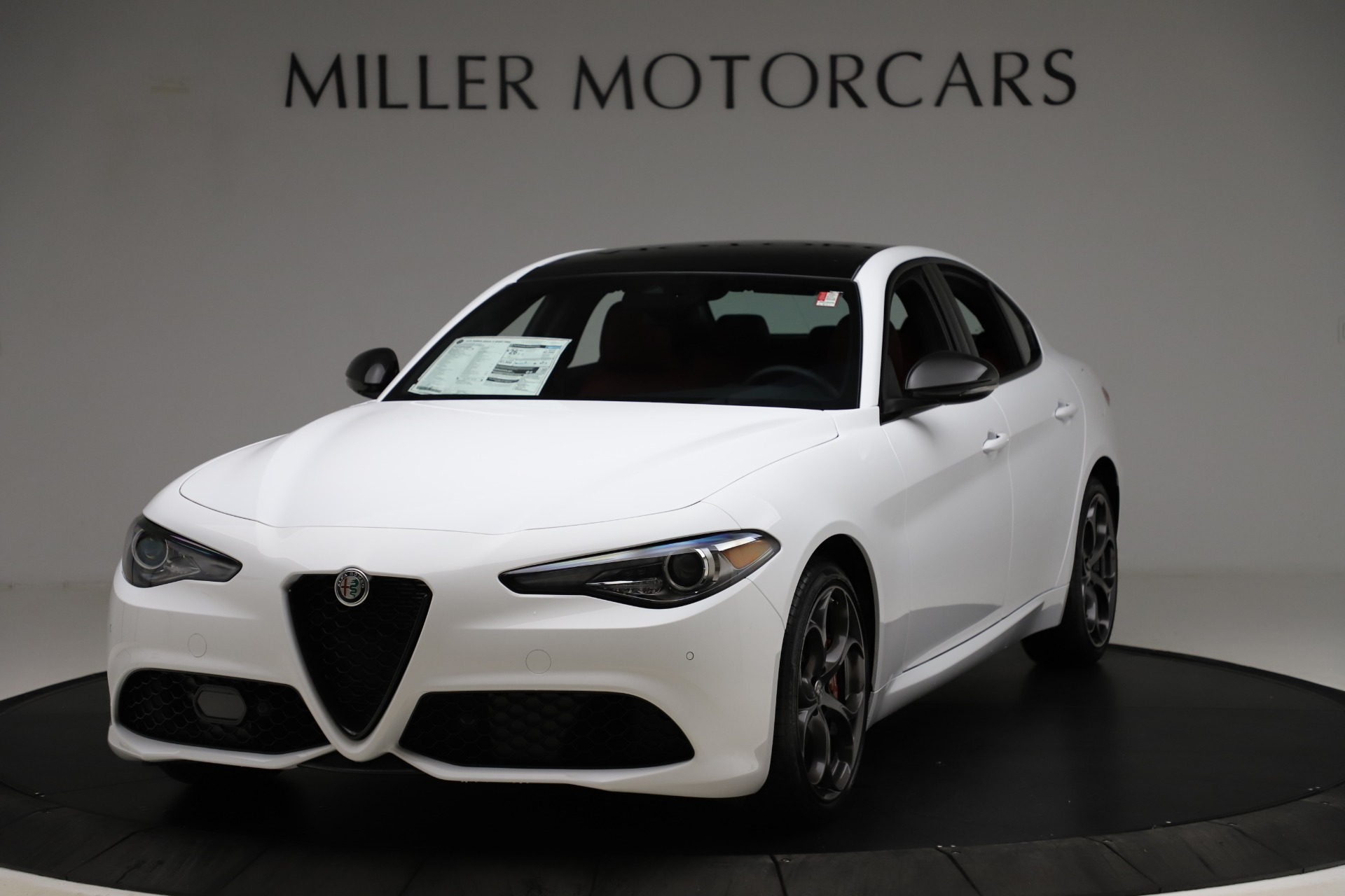 New 2020 Alfa Romeo Giulia Ti Sport Q4 for sale $51,495 at Maserati of Westport in Westport CT 06880 1