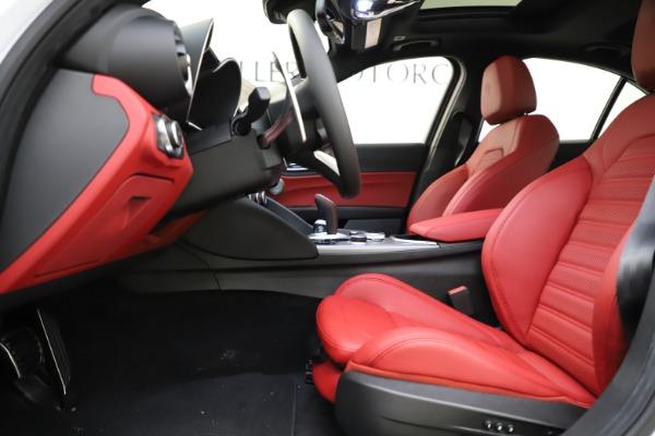 New 2020 Alfa Romeo Giulia Ti Sport Q4 for sale $52,395 at Maserati of Westport in Westport CT 06880 14