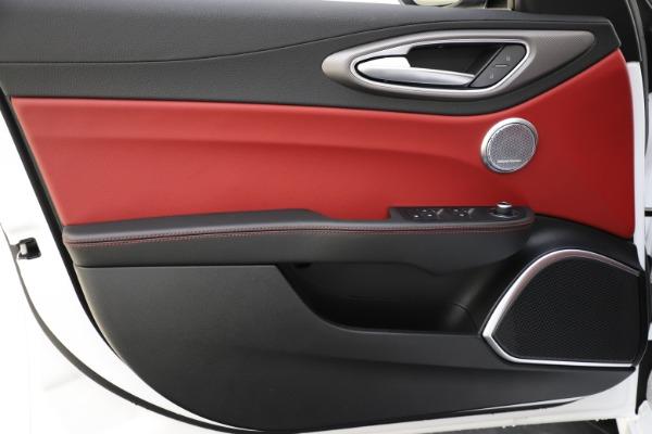 New 2020 Alfa Romeo Giulia Ti Sport Q4 for sale $52,395 at Maserati of Westport in Westport CT 06880 17