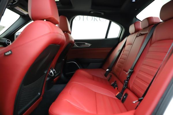 New 2020 Alfa Romeo Giulia Ti Sport Q4 for sale $52,395 at Maserati of Westport in Westport CT 06880 19