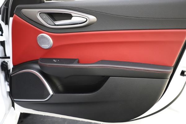 New 2020 Alfa Romeo Giulia Ti Sport Q4 for sale $52,395 at Maserati of Westport in Westport CT 06880 24