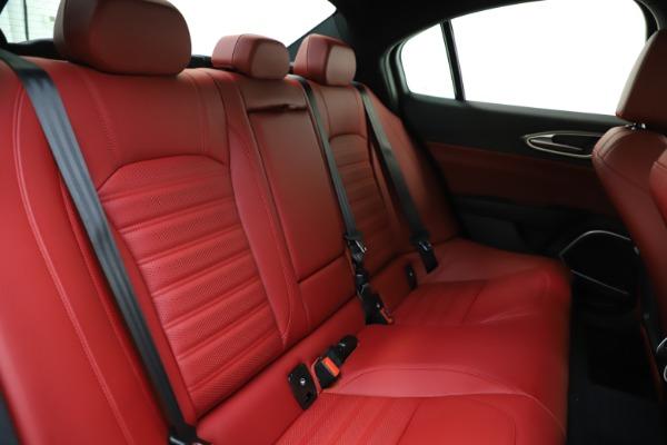 New 2020 Alfa Romeo Giulia Ti Sport Q4 for sale $52,395 at Maserati of Westport in Westport CT 06880 25