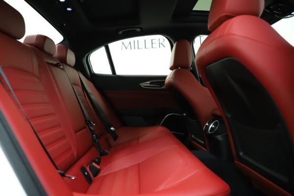 New 2020 Alfa Romeo Giulia Ti Sport Q4 for sale $52,395 at Maserati of Westport in Westport CT 06880 26