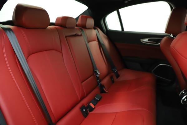 New 2020 Alfa Romeo Giulia Sport Q4 for sale $48,645 at Maserati of Westport in Westport CT 06880 24