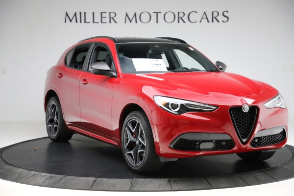 New 2020 Alfa Romeo Stelvio Ti Sport Carbon Q4 for sale $58,745 at Maserati of Westport in Westport CT 06880 11