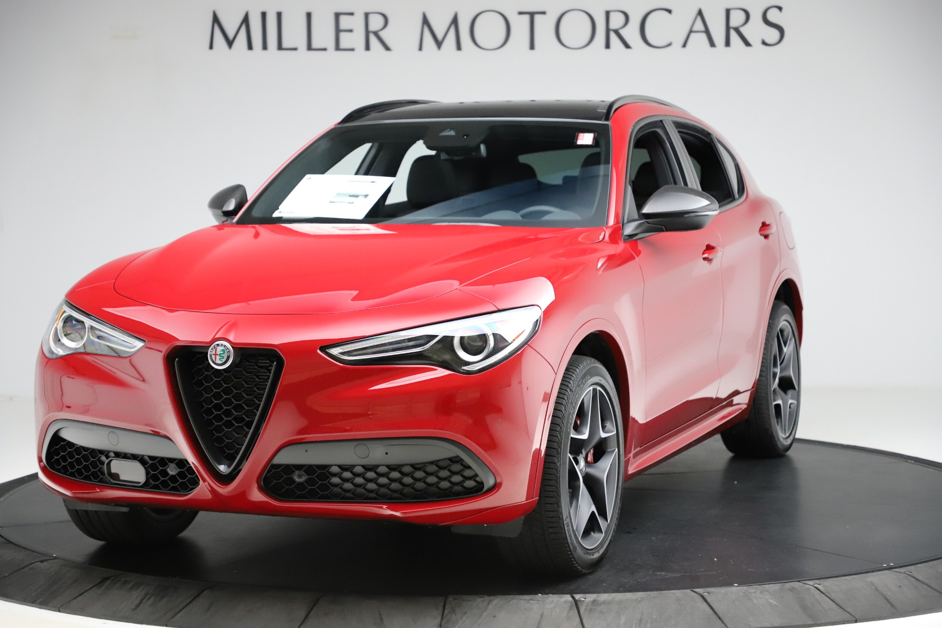 New 2020 Alfa Romeo Stelvio Ti Sport Carbon Q4 for sale $58,745 at Maserati of Westport in Westport CT 06880 1