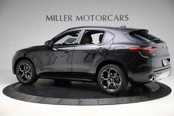 New 2020 Alfa Romeo Stelvio Ti Sport Q4 for sale Sold at Maserati of Westport in Westport CT 06880 4