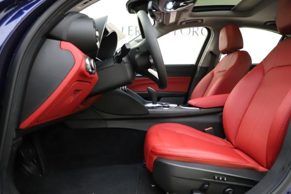 New 2020 Alfa Romeo Giulia Ti Q4 for sale $47,795 at Maserati of Westport in Westport CT 06880 14