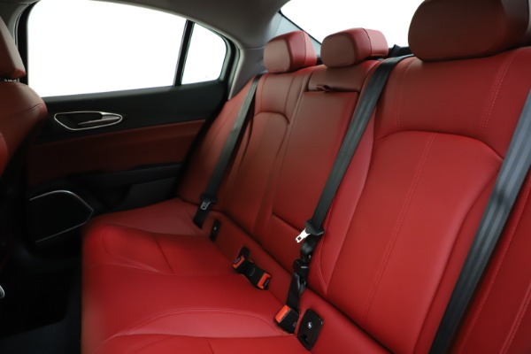 New 2020 Alfa Romeo Giulia Ti Q4 for sale $47,795 at Maserati of Westport in Westport CT 06880 18