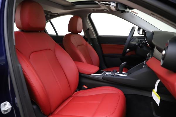 New 2020 Alfa Romeo Giulia Ti Q4 for sale $47,795 at Maserati of Westport in Westport CT 06880 21