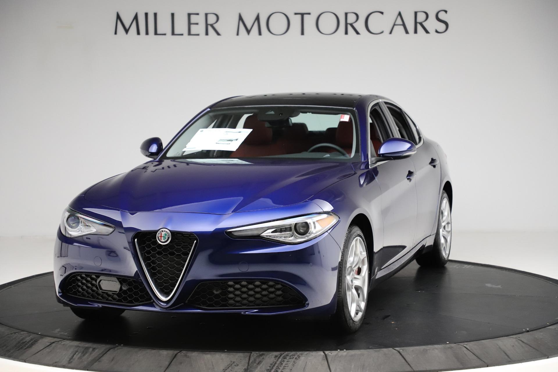 New 2020 Alfa Romeo Giulia Ti Q4 for sale $47,795 at Maserati of Westport in Westport CT 06880 1