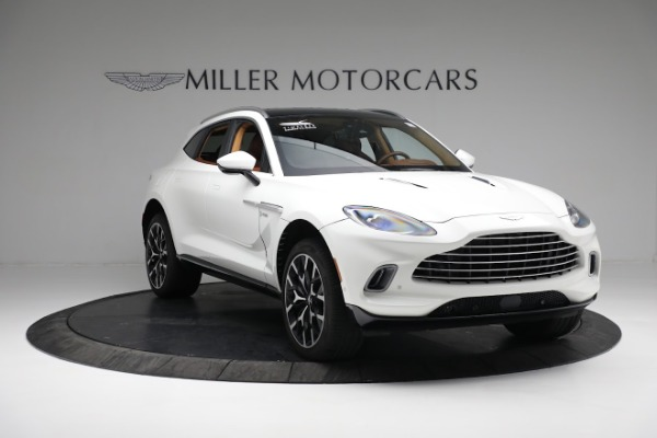 New 2021 Aston Martin DBX for sale $211,636 at Maserati of Westport in Westport CT 06880 10