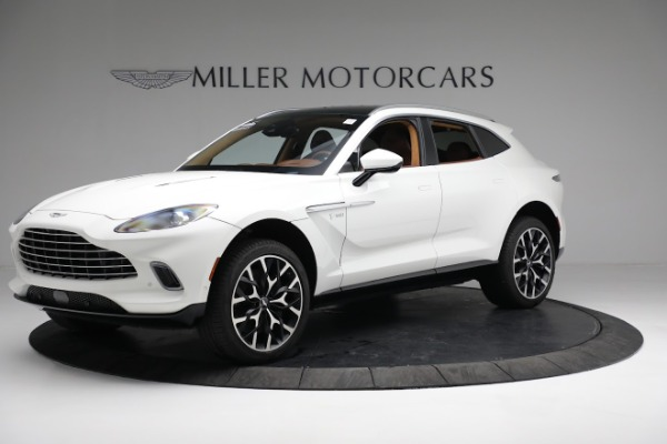 New 2021 Aston Martin DBX for sale $211,636 at Maserati of Westport in Westport CT 06880 1