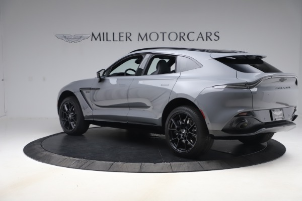 New 2021 Aston Martin DBX SUV for sale $194,486 at Maserati of Westport in Westport CT 06880 3