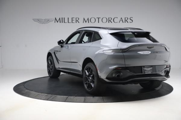 New 2021 Aston Martin DBX SUV for sale $194,486 at Maserati of Westport in Westport CT 06880 4
