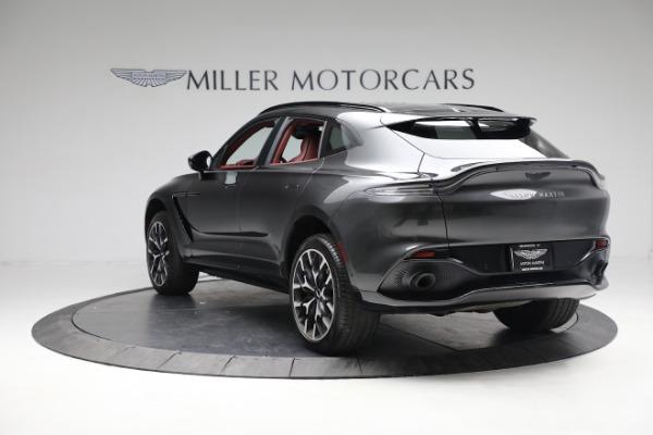 New 2021 Aston Martin DBX for sale $224,886 at Maserati of Westport in Westport CT 06880 4