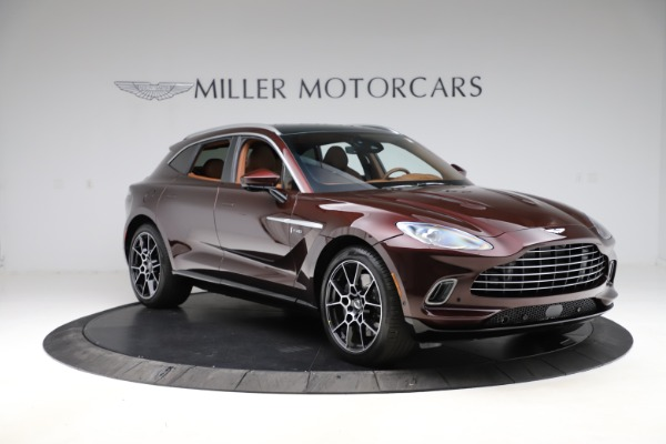 New 2021 Aston Martin DBX for sale $226,836 at Maserati of Westport in Westport CT 06880 10