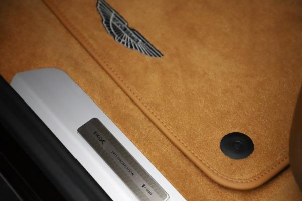 New 2021 Aston Martin DBX for sale $226,836 at Maserati of Westport in Westport CT 06880 17