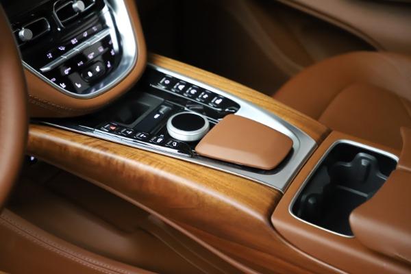 New 2021 Aston Martin DBX for sale $226,836 at Maserati of Westport in Westport CT 06880 18