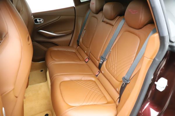 New 2021 Aston Martin DBX for sale $226,836 at Maserati of Westport in Westport CT 06880 20