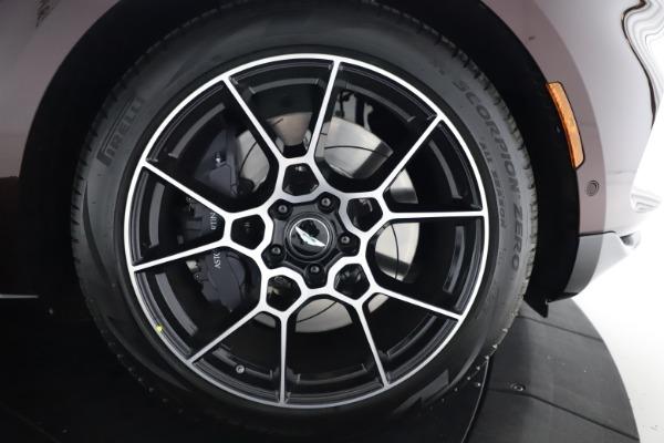New 2021 Aston Martin DBX for sale $226,836 at Maserati of Westport in Westport CT 06880 28