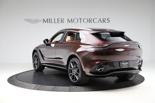 New 2021 Aston Martin DBX for sale $226,836 at Maserati of Westport in Westport CT 06880 4