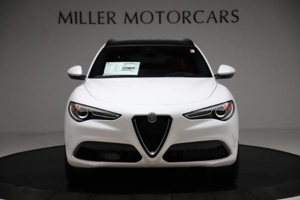 New 2020 Alfa Romeo Stelvio Ti Sport Q4 for sale $57,245 at Maserati of Westport in Westport CT 06880 12