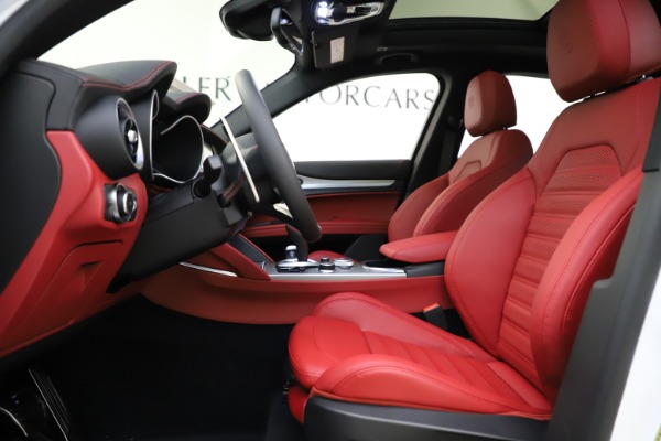 New 2020 Alfa Romeo Stelvio Ti Sport Q4 for sale $57,245 at Maserati of Westport in Westport CT 06880 14