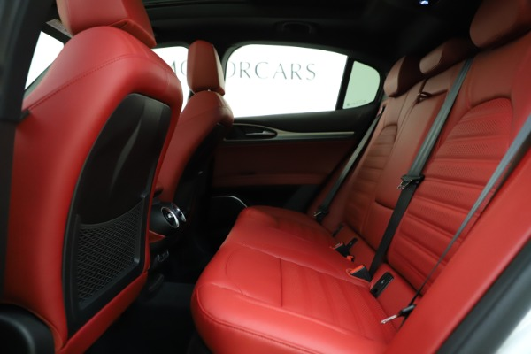 New 2020 Alfa Romeo Stelvio Ti Sport Q4 for sale Sold at Maserati of Westport in Westport CT 06880 19