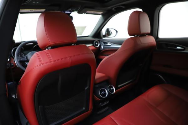 New 2020 Alfa Romeo Stelvio Ti Sport Q4 for sale $57,245 at Maserati of Westport in Westport CT 06880 20