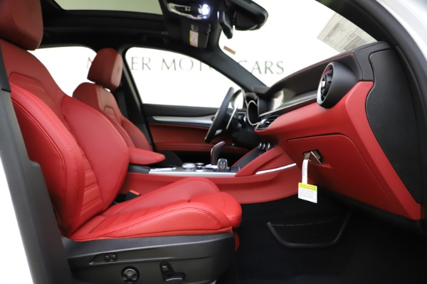 New 2020 Alfa Romeo Stelvio Ti Sport Q4 for sale $57,245 at Maserati of Westport in Westport CT 06880 23