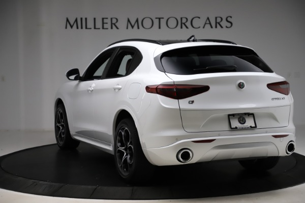 New 2020 Alfa Romeo Stelvio Ti Sport Q4 for sale $57,245 at Maserati of Westport in Westport CT 06880 5