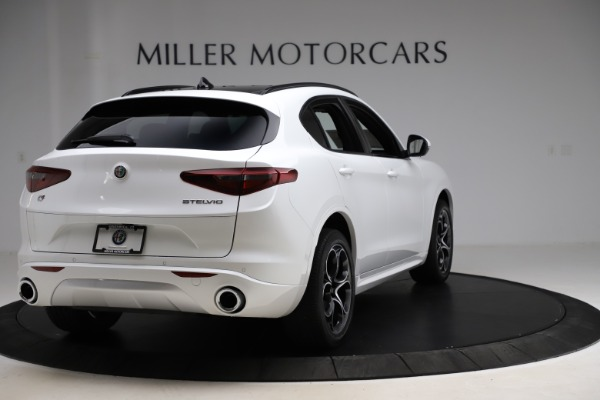 New 2020 Alfa Romeo Stelvio Ti Sport Q4 for sale $57,245 at Maserati of Westport in Westport CT 06880 7