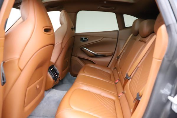 New 2021 Aston Martin DBX for sale $229,486 at Maserati of Westport in Westport CT 06880 16