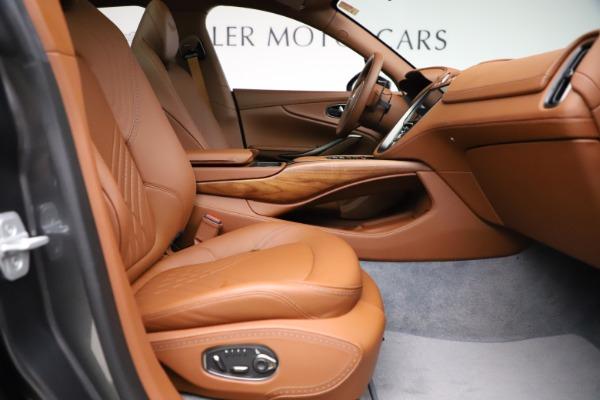 New 2021 Aston Martin DBX for sale $229,486 at Maserati of Westport in Westport CT 06880 20