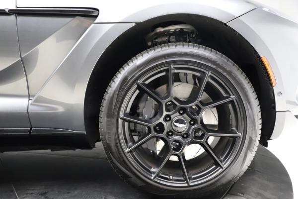 New 2021 Aston Martin DBX for sale $229,486 at Maserati of Westport in Westport CT 06880 22